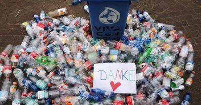 Pfandflaschen-Sammelaktion