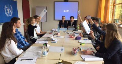 Der Sicherheitsrat tagt am Bondenwald